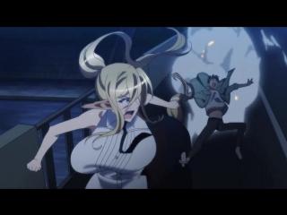 SHIZA Повседневная жизнь с девушкой-монстром / Monster Musume no Iru Nichijou TV - 12 серия MVO 2015