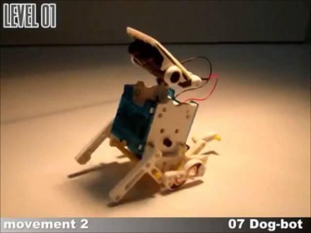 Конструктор 14 в 1 Educational Solar RobotKit 2115