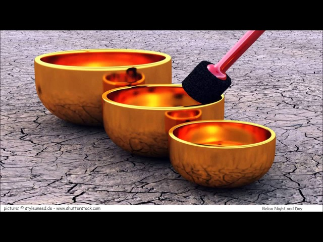 9 HOURS Tibetan Healing Sounds - Singing Bowls - Natural sounds Gold for Meditation Relaxation