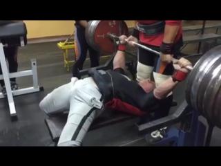 Дмитрий Инзаркин, жим лёжа 300 кг