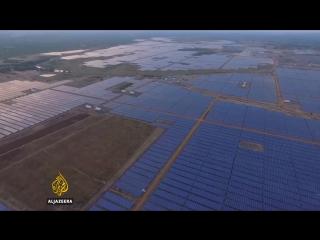 В Индии построили самую большую в мире солнечную электростанцию