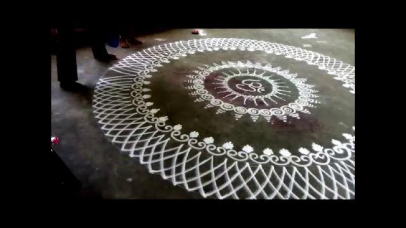 Learn rangoli How to draw Sanskar Bharati Rangoli Design Diwali Special Rangoli Kolam