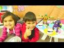 Kızerkekçocukoyunları Meryem Mikail ve Ninjalar için yemek yapıyor çizgifilmoyuncakları