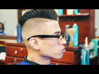 How to Do a High Skin Fade with a Pompadour