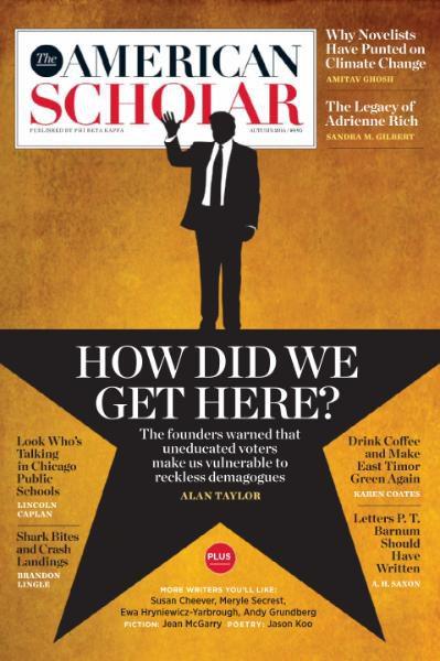 The American Scholar - Autumn 2016