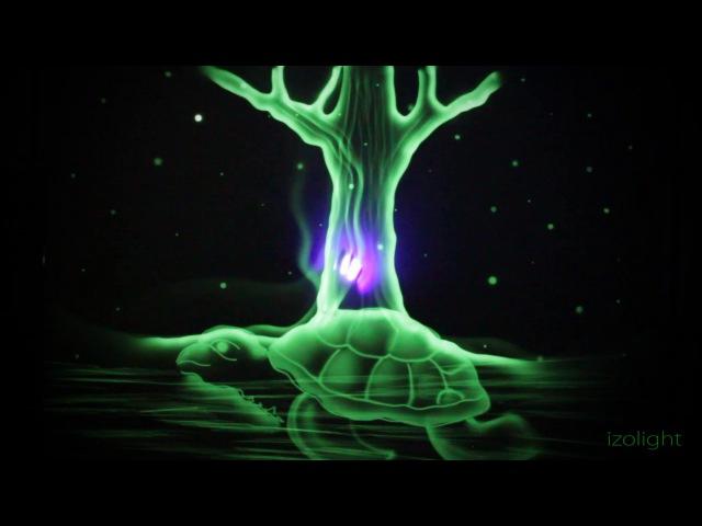 Шоу световых картин ФэнтазиГрад Творческая группа ИзоЛайт