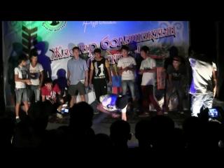 Байконыр VS Казалы -  Брек Данс Батл (Break dance. Battle 2015)