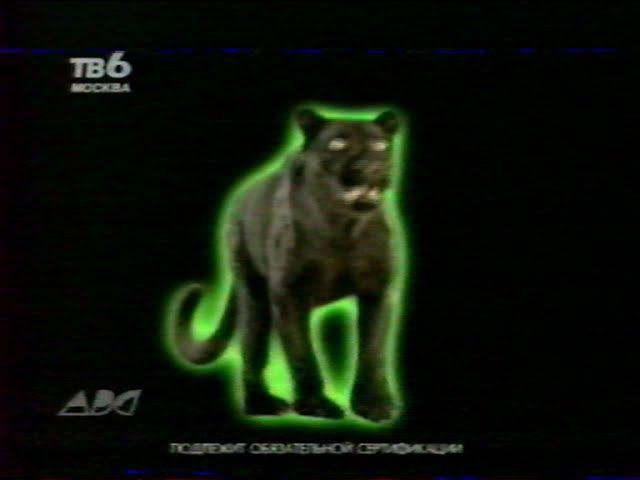 Рекламы спонсор Инком и Автосигнализация ПАНТЕРА ТВ 6 ABC 16 05 2000