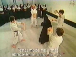 Martial Arts - Karate and Aikido - Nuns learn them as self-defense