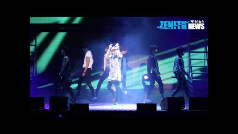 [ZENITH TV] 인피니트(INFINITE) 배드(BAD) 첫 무대 - 인피니트 리얼리티(REALITY) 쇼케이스