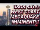 USGS Devastating Megaquake Tsunami To Hit West Coast Of US