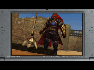 Hyrule Warriors Legends Character Trailer ~ Ganondorf with Trident