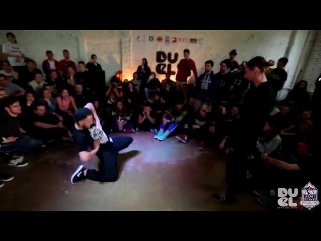 VALEK VS EDEEK 1 8 DUEL 4 ELECTRO 1 VS 1 BOOMBOX video