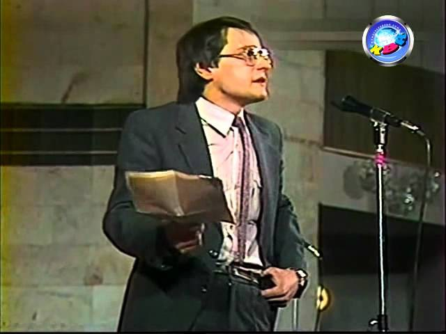 КВН Ретро 1986-87 Утешительная игра - МХТИ Домашка