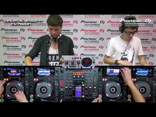 Drum and Bass Invasion Part 6 by Biocorpses (Nsk) (Drum and Base) ► Video-Cast @ PioneerDJnsk