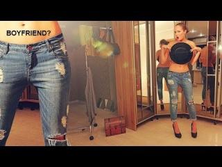Джинсы бойфренды. Как использовать джинсы для создания необычного образа? Часть 1