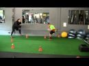 Youth Strength, Speed Agility Training Complete VertiMax Workout - Part 4 of 4
