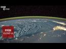 Космічний таймлапс спалахи блискавок на Землі