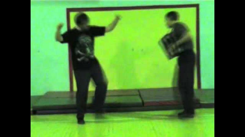 Урок 17 8 Пляска Ритм 1 Шаг без веса Верх низ серёдка