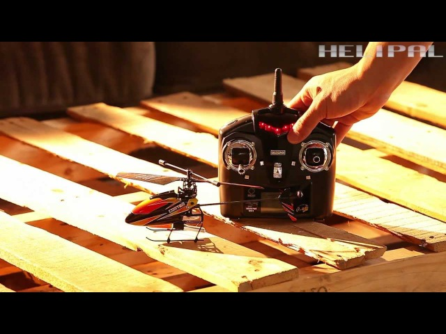 WL V911 Micro Helicopter Test Flight
