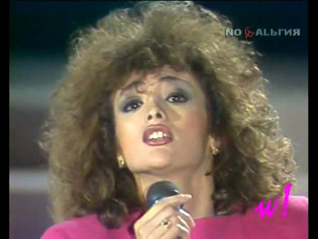 Flavia Fortunato - Verso IL 2000 (HQ) SAN REMO a Mosca Fiori e Canzoni dall Italia 1986