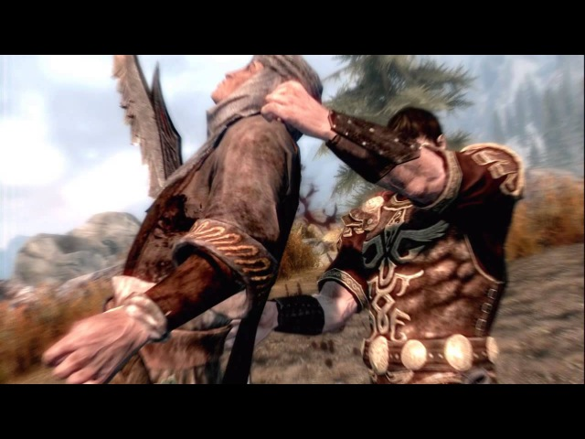 All Skyrim Kill Moves As Leonidas.