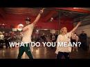 Justin Bieber - What Do You Mean? - Choreography by @NikaKljun @SonnyFp - Filmed by @TimMilgram