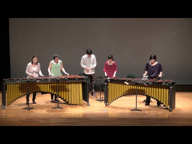 You're So Cool True Romance / Hans Zimmer - Percussion Marimba Ensemble マリンバ アンサンブル