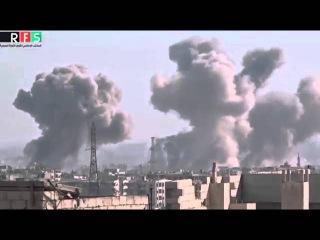Сирия! Война! Мощные АВИАУДАРЫ по Боевикам в Пригородах ДАМАСКА! WAR OF SYRIA Новости Сирии и Ми - YouTube