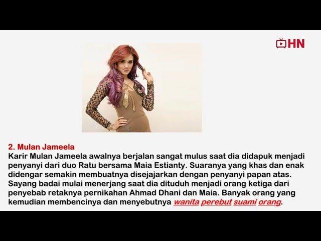 INILAH 5 ARTIS INDONESIA YANG PENUH KONTROVERSIAL DIBENCI DICEMOOH MALAH SEMAKIN TERKENAL