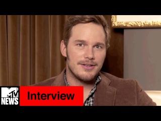 Chris Pratt on Sex Scene w/ Jennifer Lawrence, Guardians 2, & Jurassic World Sequel | MTV News