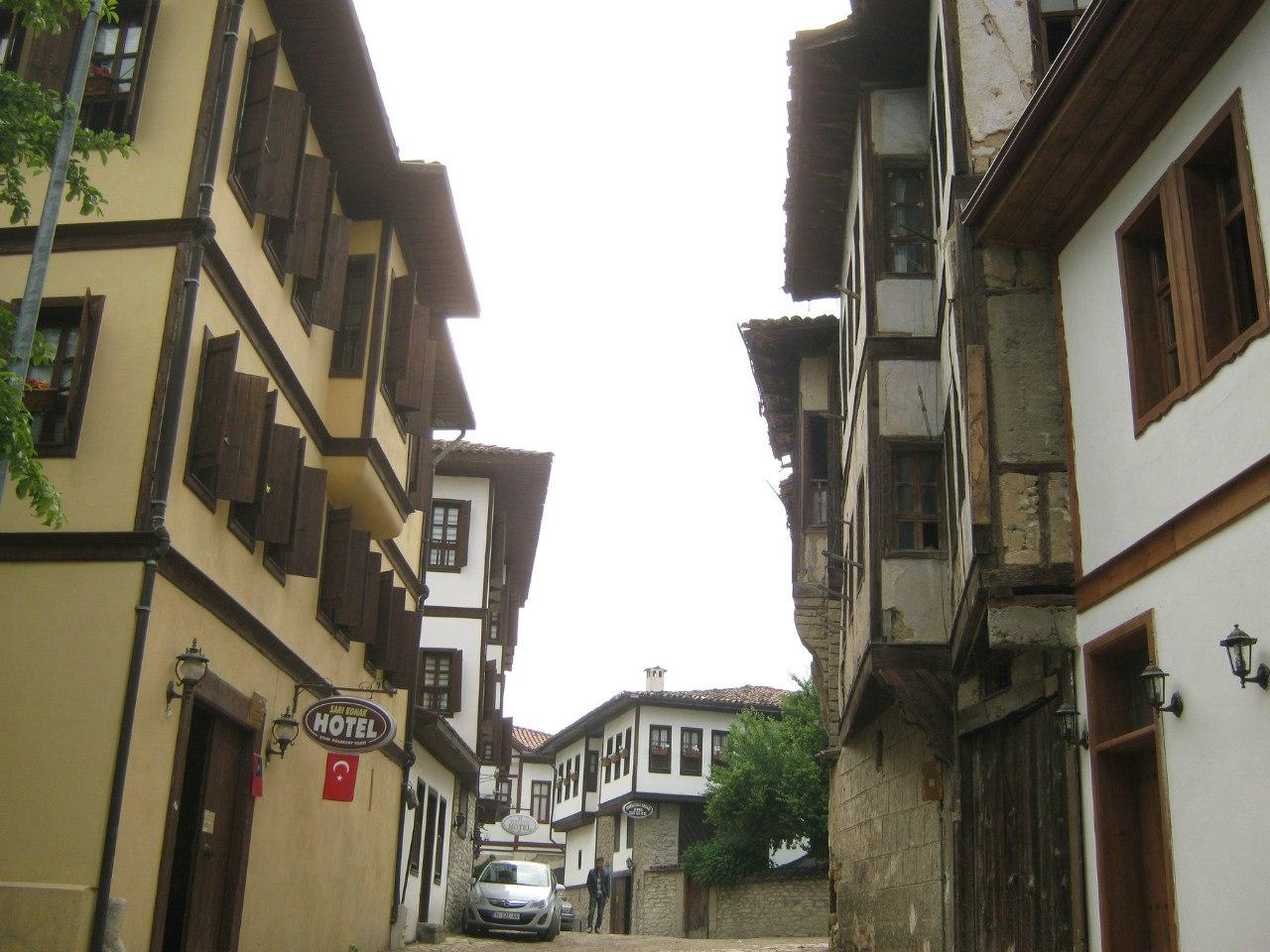 старинные турецкие особняки в Сафранболу