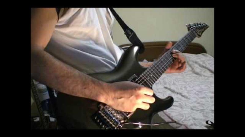 Joe Satriani The Crush of Love cover