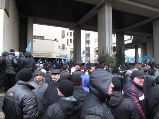 26 февраля 2014 Симферополь Татары 26 02 2014 14