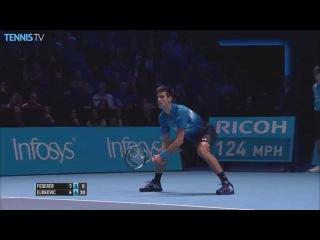 2015 Barclays ATP World Tour Finals - Novak Djokovic Hot Shot