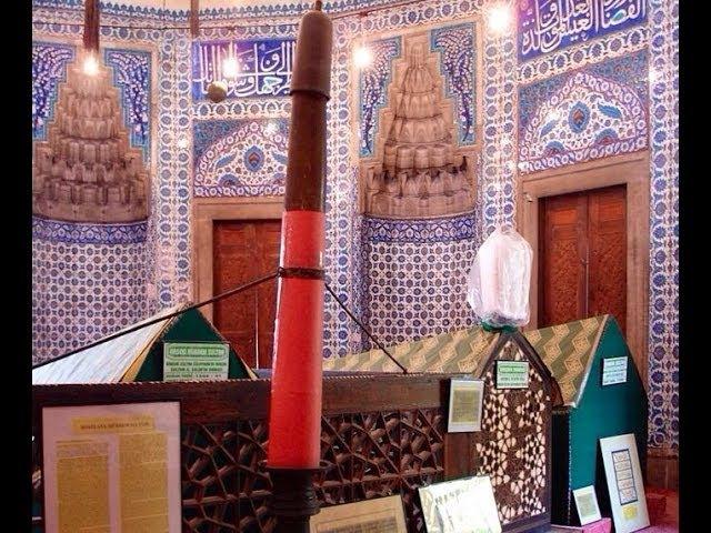 Где похоронены Хюррем, Султан СулейманHürrem Sultanın mezarı.