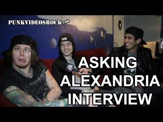 "Asking Alexandria Talk 'The Black,' Warped Tour & ""Send Me Home"" w/ @RobertHerrera3"