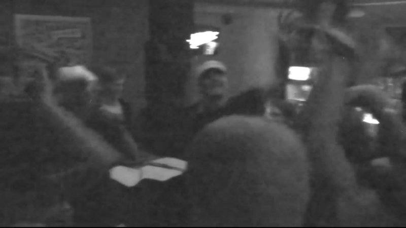 MC Den Da Funk - Песня про Динамо от ВУЗВ @ XLIB club, Kiev, UA