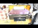 Распаковка и установка Принтера Epson SureColor SC P600