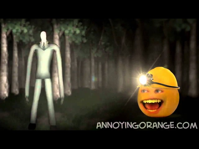 Annoying Orange Апельсин и Slender Rus by Rissy