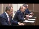 Глава МИД Катара передал Путину послание эмира по ситуации в Сирии