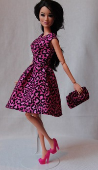 Красивая одежда для кукол своими руками 186