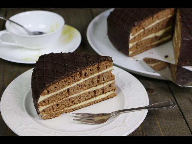 Торт Пражский на сковороде