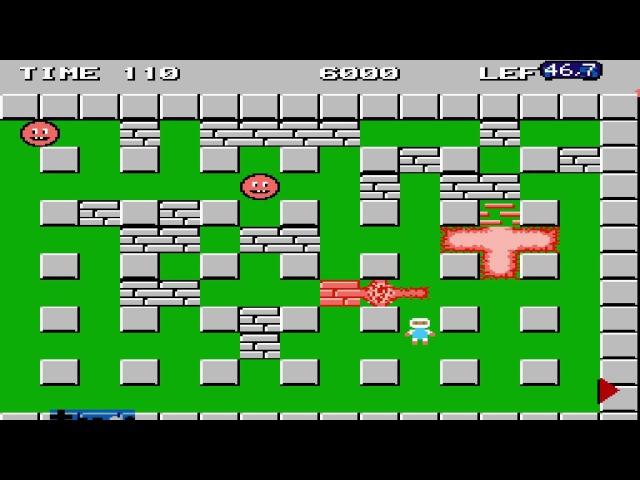 Bomberman FCEUX NO DEATH RUN by Azatron