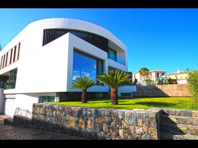 Элитная недвижимость в Испании вилла Hi Tech в урбанизации Сьерра Кортина Бенидорма