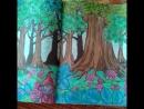 В темно синем лесу)