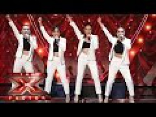 There ain't no other women like 4th Impact! | Live Week 4 | The X Factor 2015