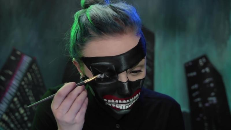 Tokyo Ghoul Collab with Michelle Phan Jkissa - Kaneki Makeup Tutorial