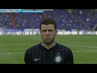 FIFA 15 Inter Milan Faces