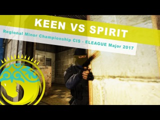 keeN 4kills vs  | StarLadder Regional Minor Championship CIS - ELEAGUE Major 2017